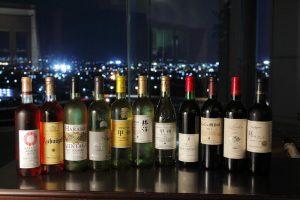 勢揃いワイン